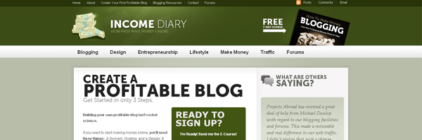 Profitable blog