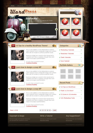 WordPress_Theme_2_by_dellustrations