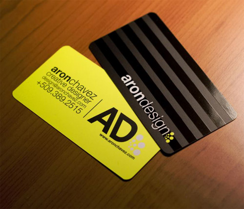 50 Sleek and Creative Business Cards