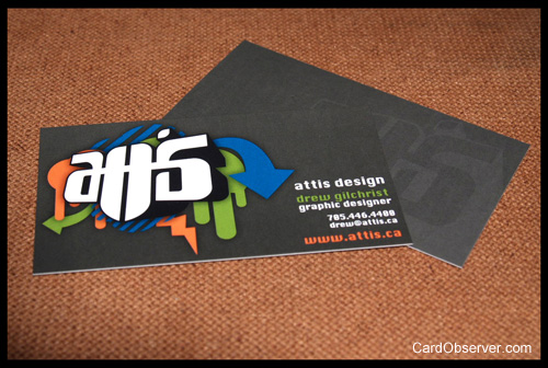 Attis Design Business Card