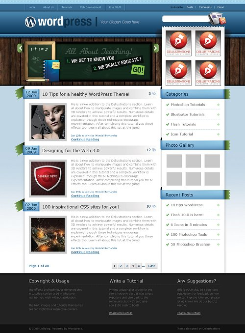 blues-wordpress-theme