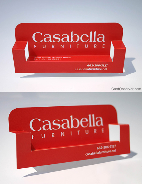 Casabella Furniture Business Card