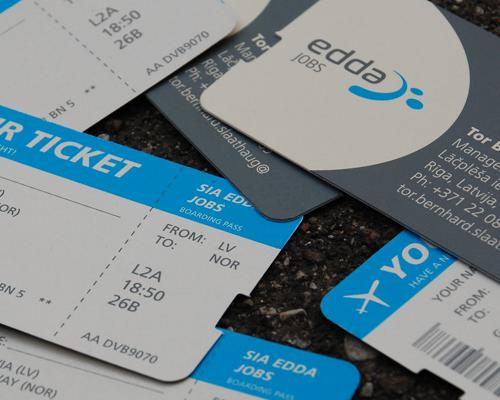 Edda Jobs Business Card
