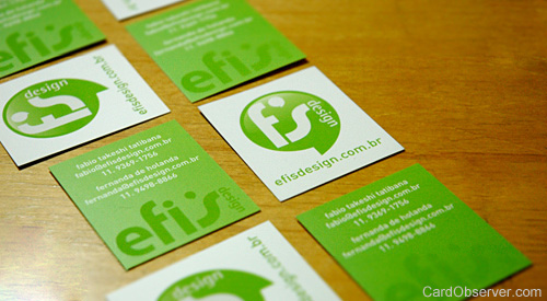 Efis Design Business Card
