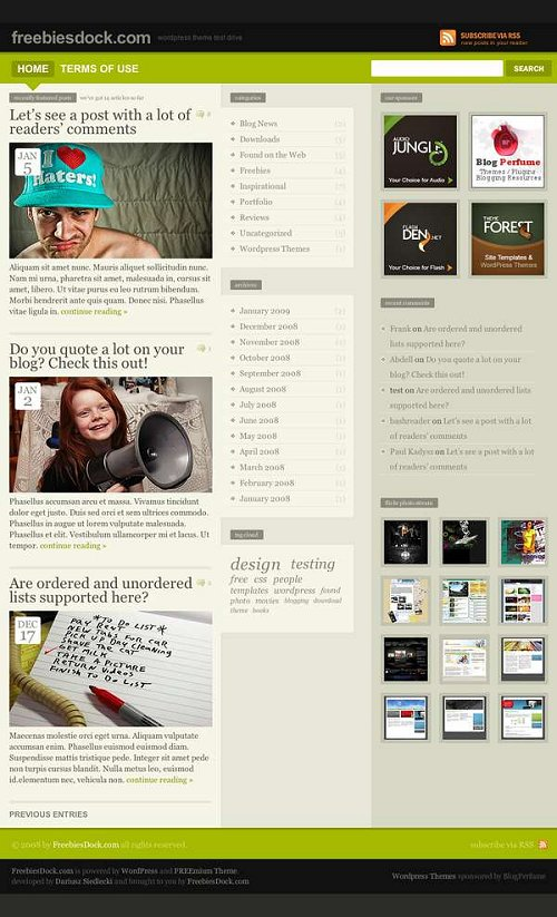 freemium-wordpress-theme