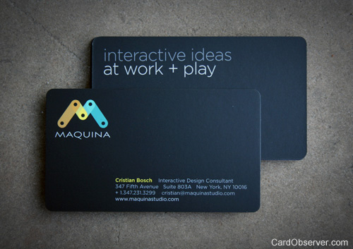 Maquina Design Business Card