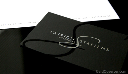Patricia Staelens Business Card