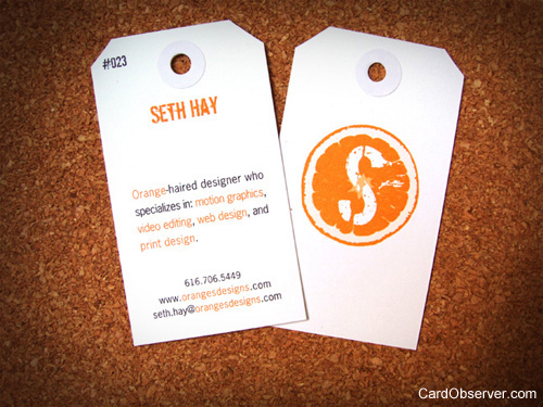 Seth Hay Business Card