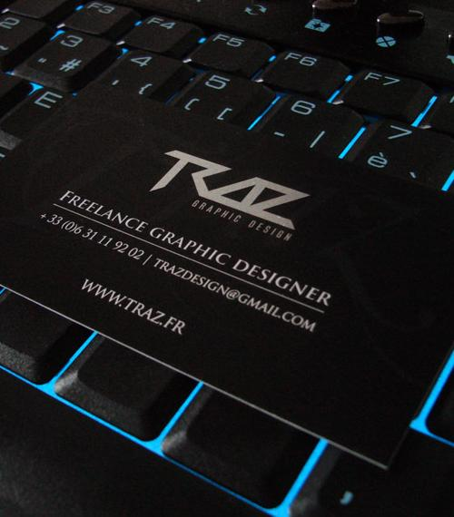Traz Designer Business Card