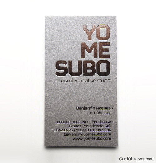 YoMeSubo Business Card