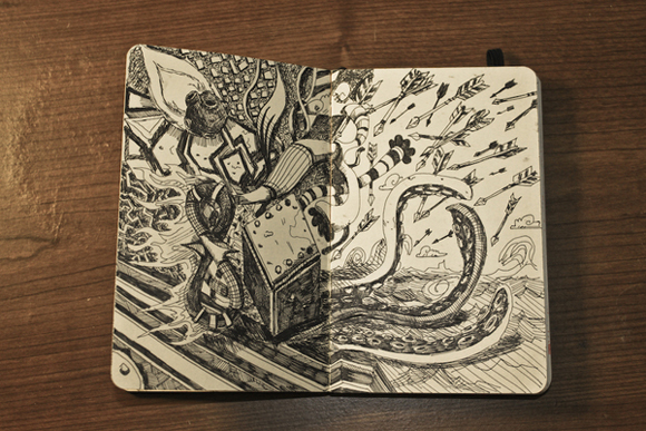 Cool Art Sketchbook Cover : Sketchbooks and moleskines that will leave you