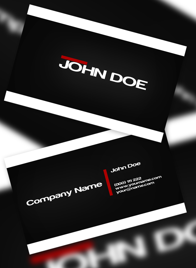 12 Usable Free Business Card Templates Creativeoverflow
