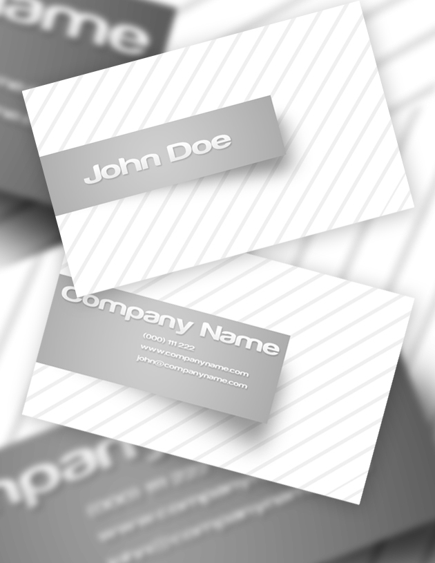 12 usable free business card templates creativeoverflow we cheaphphosting Images