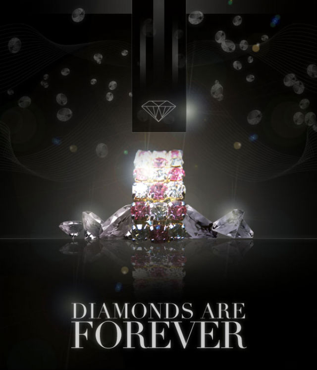 Poster Design Tutorials - Design a Sleek Diamond Poster Advert