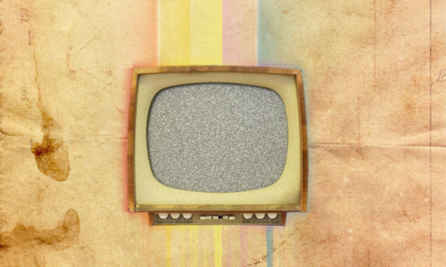 Poster Design Tutorials - Create a Texture-Based Vintage TV Poster in Photoshop
