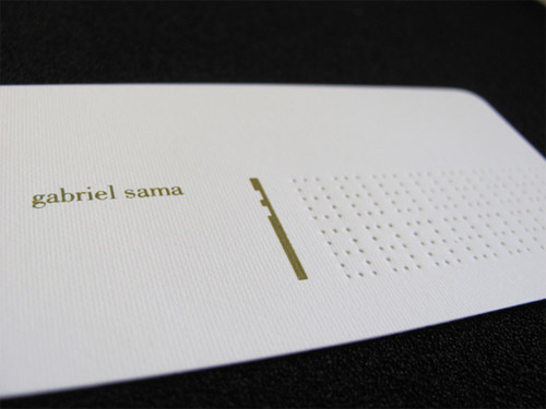 When Less Is More: 26 Magnificent Minimalist Business Cards