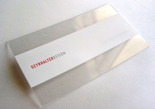 When Less Is More: 26 Magnificent Minimalist Business Cards ...