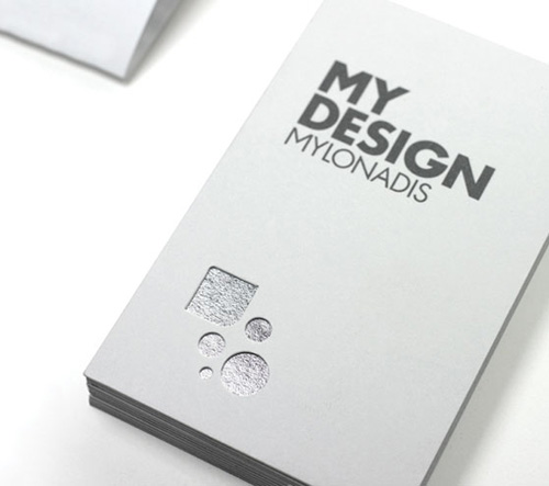 When Less Is More 26 Magnificent Minimalist Business Cards
