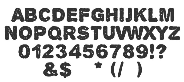 30 free grunge fonts you can use on the web