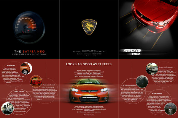 20 car brochure designs that will drive you crazy for Car brochure template