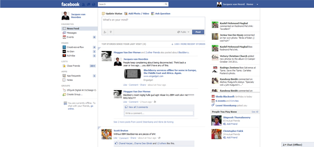 Facebook Redesign: 10 Different Layout Design Possibilities