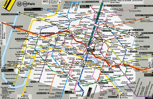 The Top 5 Subway Maps of the World – French Tube Map
