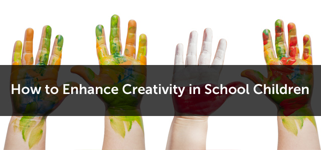 enhancing the creativity in children