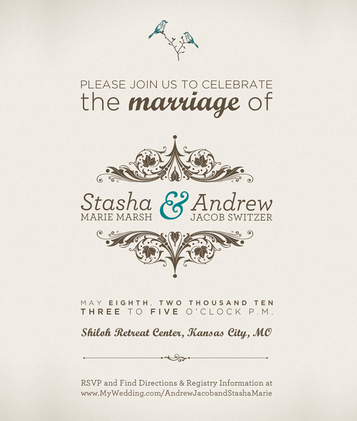 A showcase of 30 beautifully designed wedding invitations have you found any examples of beautifully designed wedding invitations if youve found any worth sharing please let us know in the comments stopboris Choice Image