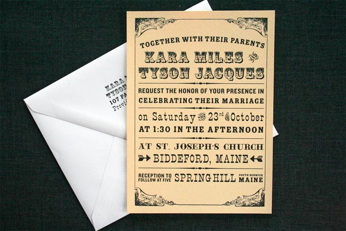 A showcase of 30 beautifully designed wedding invitations have you found any examples of beautifully designed wedding invitations stopboris Choice Image