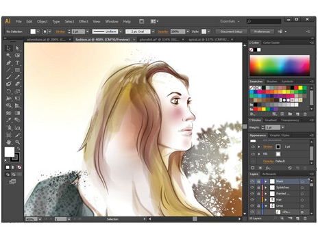 Adobe illustrator cs6 the best vector drawing tool Best free drawing programs