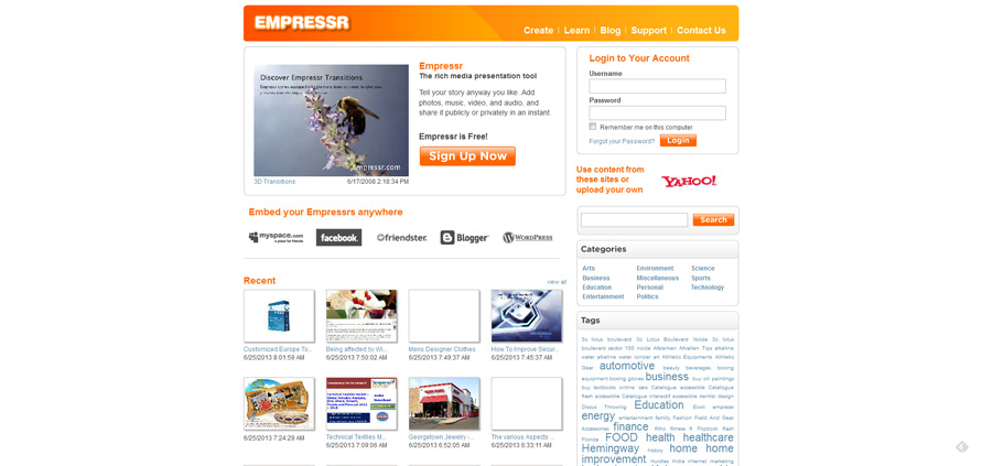 Empressr - The Best Online Rich Media Presentation Application_20130625-153745