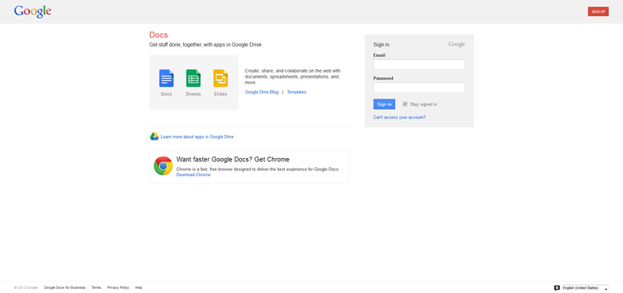 Google Docs - Online documents, spreadsheets, presentations, surveys, file storage and more_20130625-153936