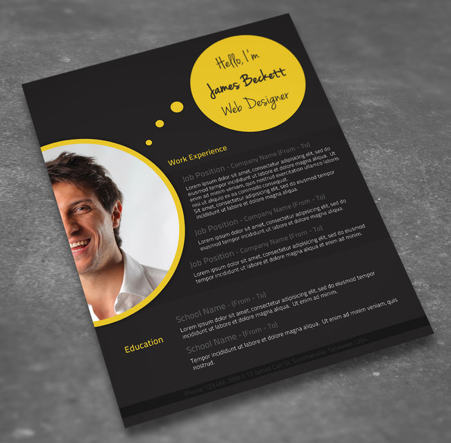 Customize Your Resume Template And Take Full Advantage Of Its
