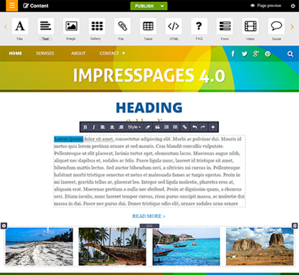 impress-pages