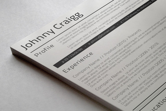 getting a resume professionally done