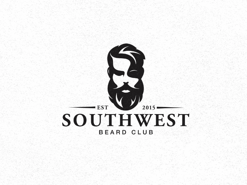 28 beard stache logos creativeoverflow creativeoverflow