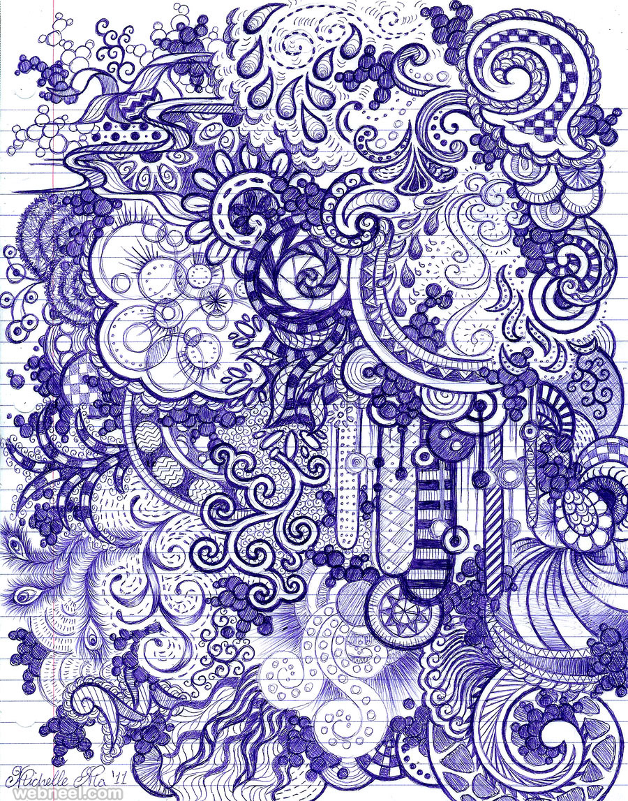 25 Drawings To Inspire Your Next Doodle Sessions   Creativeoverflow