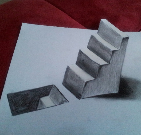 25 3D Pencil Drawings With Some Realism