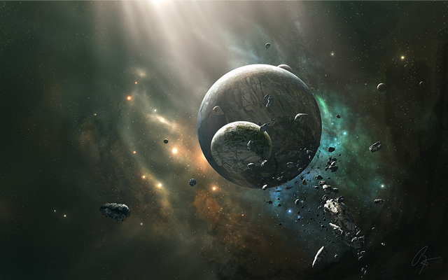 30 Breathtaking Space Themed Wallpapers Creativeoverflow